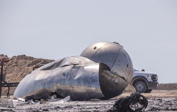У мережі показали уламки Starship, що вибухнув