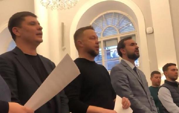Депутати Львівської міськради співатимуть хором