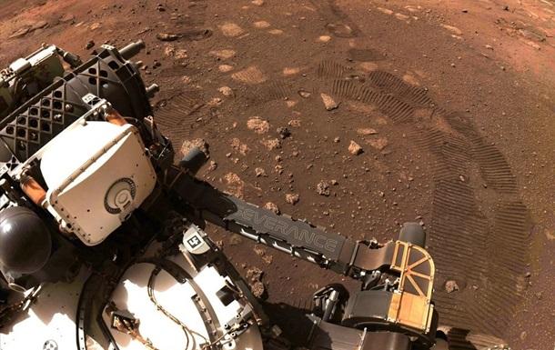 Perseverance вперше проїхав по поверхні Марса
