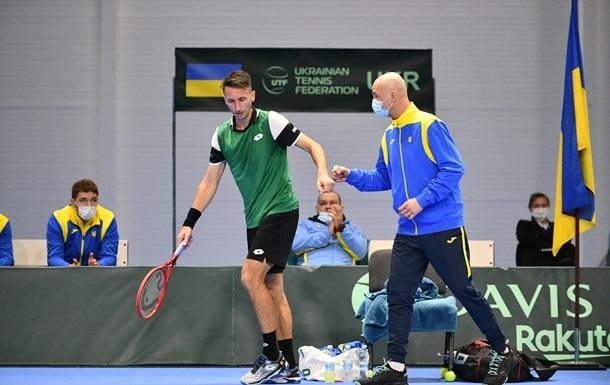 Стаховский принес Украине победу над Израилем в Кубке Дэвиса