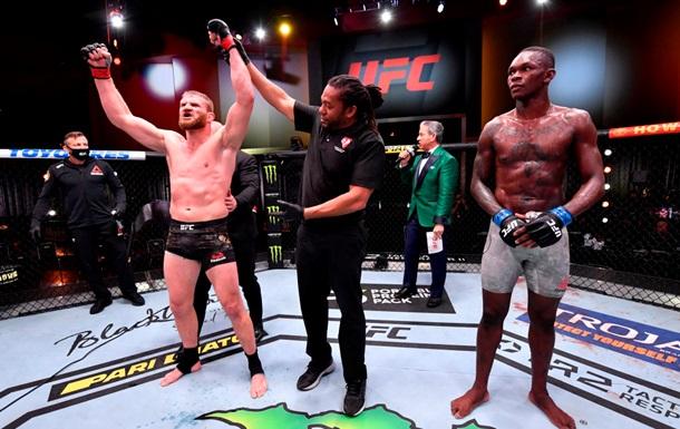 Блахович одержал победу над Адесаньей на UFC 259