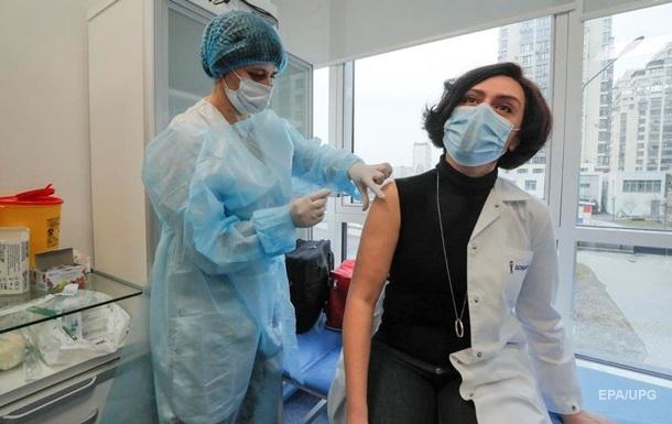 В Украине провакцинировали более 17 тысяч человек