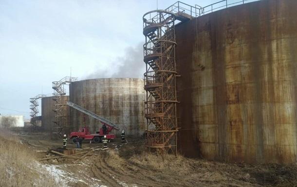 В Тернопольской области загорелся сахарный завод