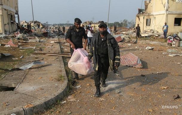 Количество жертв взрывов в Экваториальной Гвинее увеличилось в пять раз