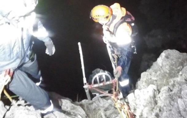 У Криму загинув альпініст, який зірвався зі скелі
