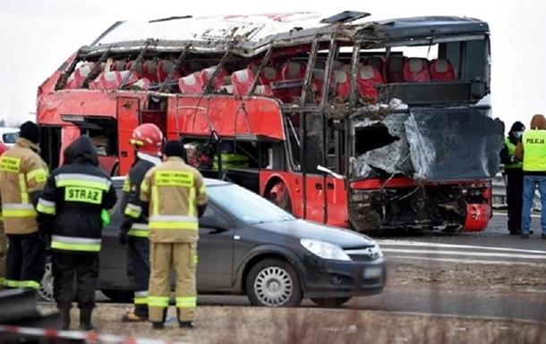 ДТП в Польше: 22 украинца в больницах, двое в тяжелом состоянии