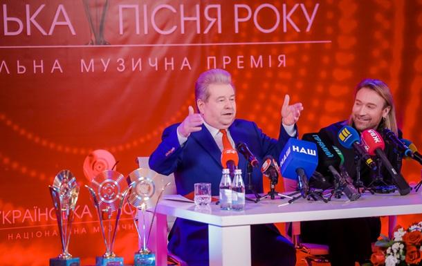 Поплавский и Винник анонсировали вторую церемонию Украинской песни года