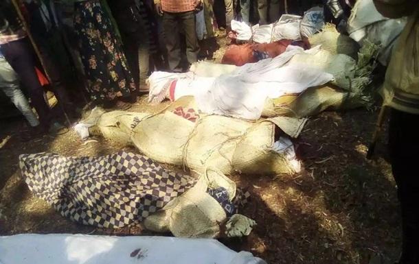 В Эфиопии при атаке боевиков на церковь погибли почти 30 человек