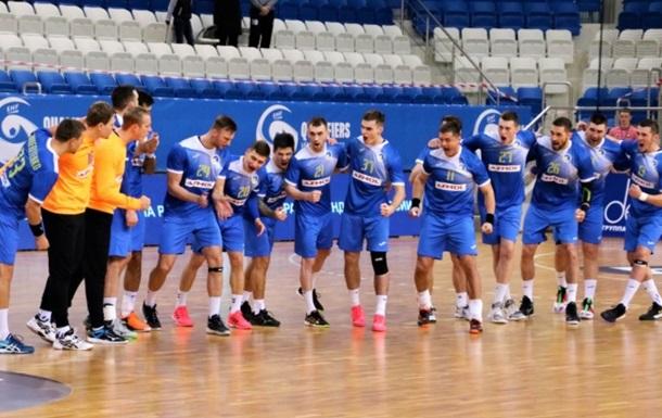 Гандболисты сборной Украины обыграли Фареры в квалификации Евро-2022