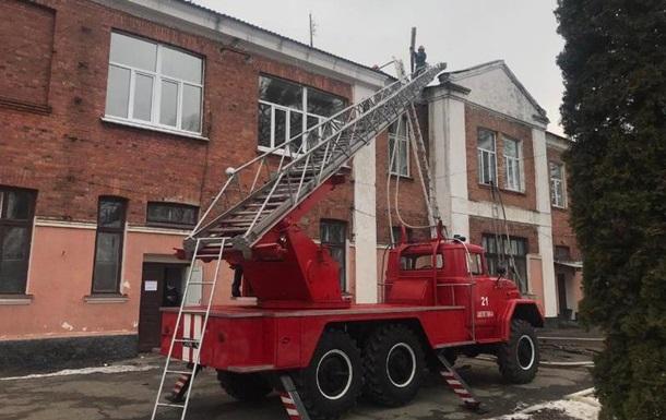 В Хмельницкой области горела больница