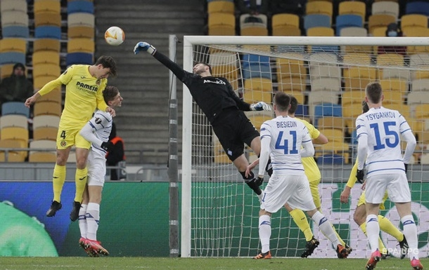 Динамо - Вильярреал 0:2. Онлайн матча Лиги Европы