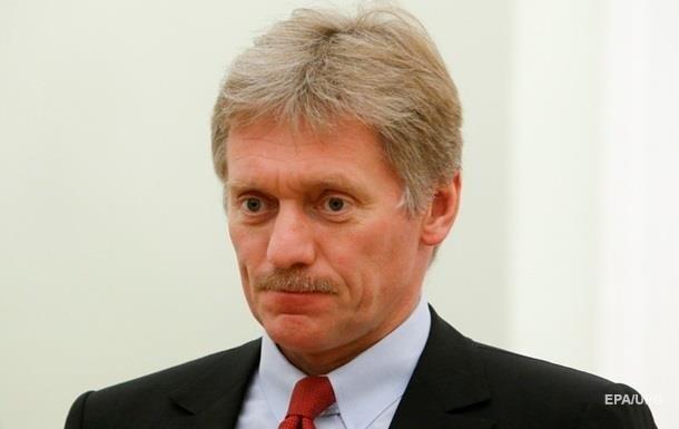 Пєсков: Не отримували пропозицій Києва щодо зустрічі