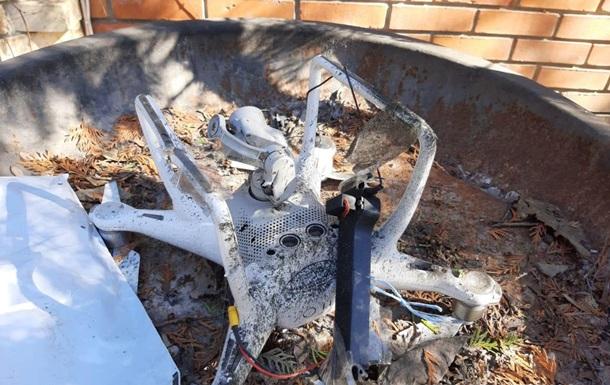 В Одессе на частный дом с дрона сбросили гранату