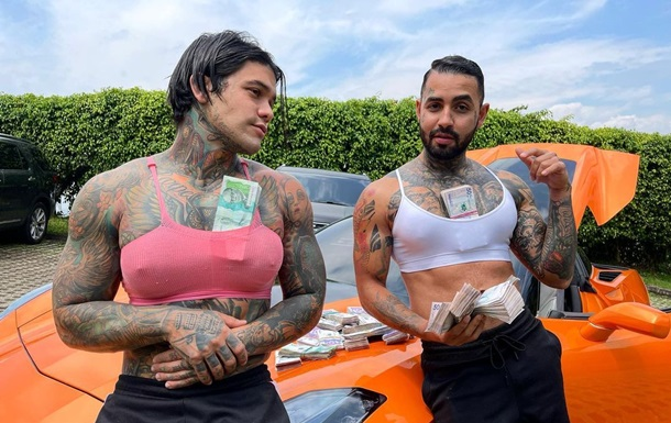 Два колумбийца ради шутки увеличили себе грудь
