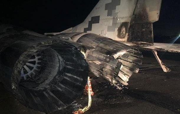 З явилися фото аварії авто з літаком під Києвом