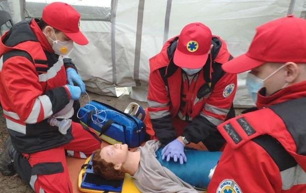 У Києві рятувальники провели масштабні навчання