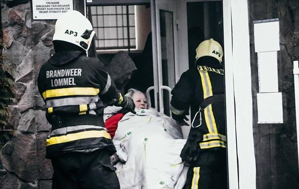 В горевшем киевском доме престарелых нашли 42 нарушения