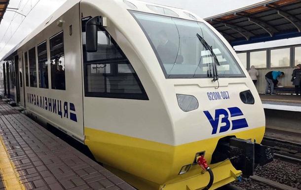 УЗ запустить першу електричку City Express у Києві 15 березня