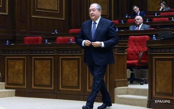 Президент Вірменії госпіталізований