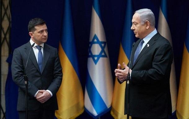 Зеленський обговорив з Нетаньяху відкриті кордони
