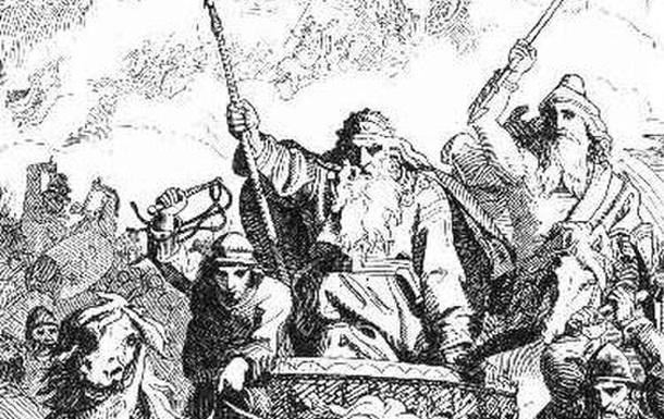 Принцесса Адель Меровинг и деньги от императора Константина V за удар по евреям