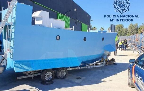 В Іспанії затримали підводний човен наркоторговців