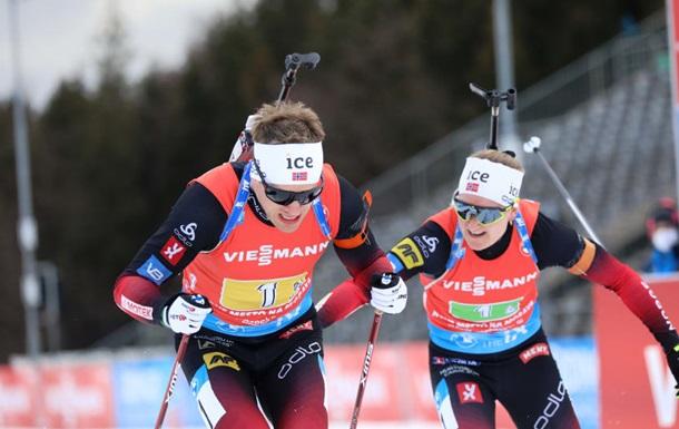 Норвегія без шансів для суперників виграла змішану естафету, Україна - в топ-5
