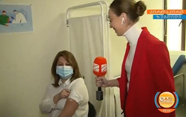 Грузия начала вакцинацию от COVID-19