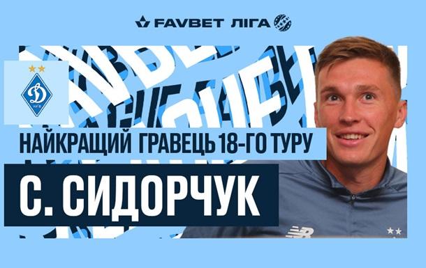 Сидорчук визнаний найкращим гравцем туру УПЛ, Луческу - найкращий тренер