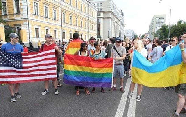 Украина под цветным флагом