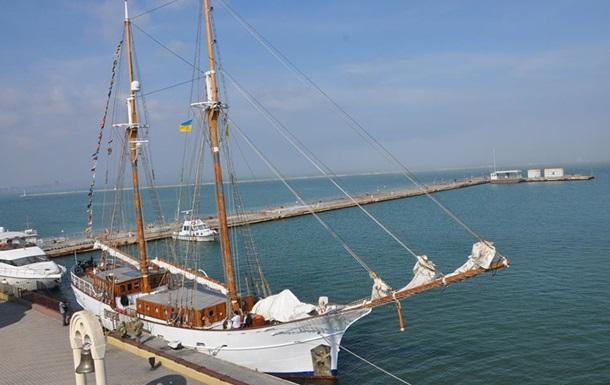 В Одесу зайшла на ремонт столітня яхта