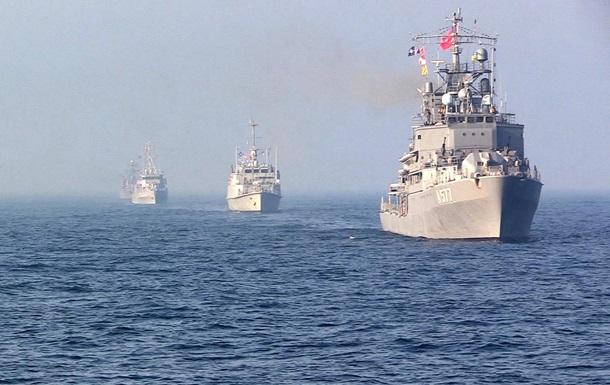 ВМС України провели навчання з кораблями НАТО