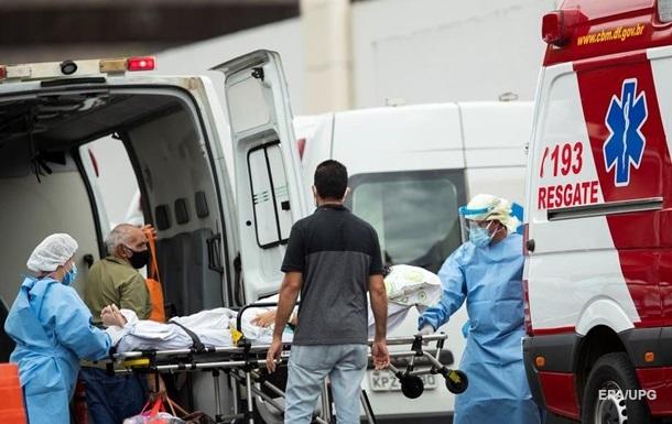У Бразилії рекордна добова смертність від COVID-19