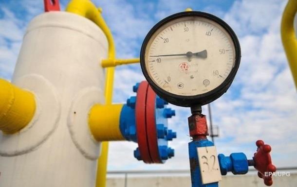Украина использовала 40% запасов газа