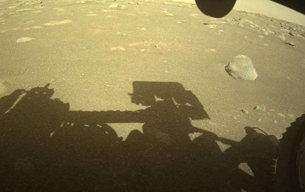 Perseverance записав звуки свого пересування на Марсі