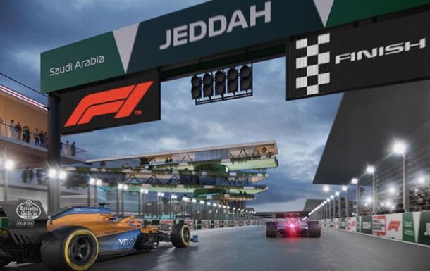 Формула-1 представила схему міської траси в Джидді