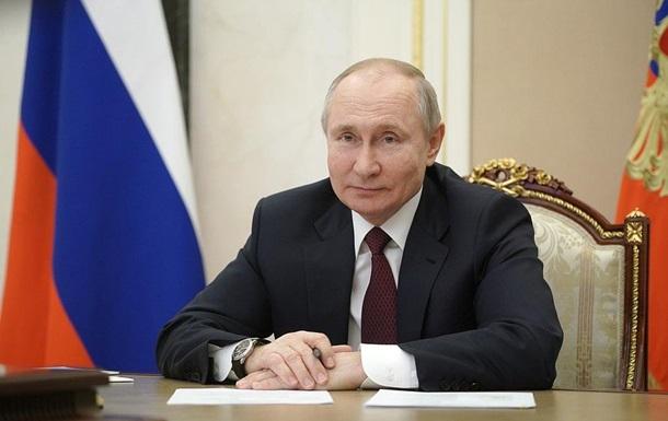 Путин пожелал здоровья Байдену