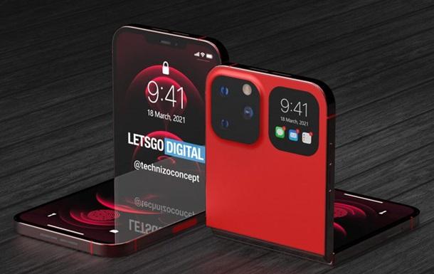 В сети появился дизайн iPhone с гибким экраном