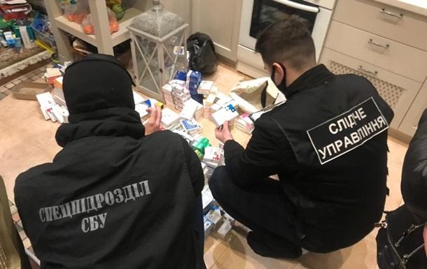 СБУ заблокувала схему контрабанди ліків