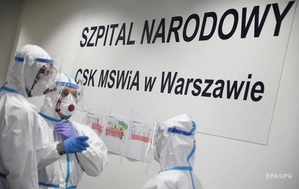 У Польщі вже більше двох мільйонів випадків COVID-19