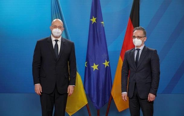 Шмыгаль обсудил вступление в ЕС и НАТО с Маасом
