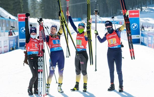Україна зберегла квоту в п ять біатлоністів і біатлоністок на наступний сезон