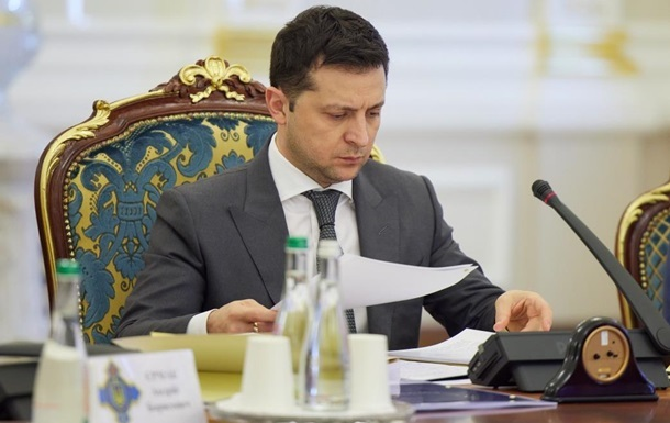Зеленський запустив рішення РНБО про хімбезпеку