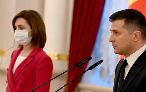 Главные аспекты встречи Майи Санду и Владимира Зеленского