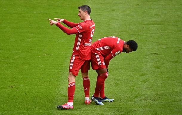 Левандовскі побив особистий рекорд за голами в Бундеслізі за сезон