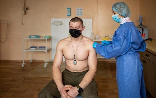 За добу від COVID вакцинували менше 4 тисячі українців