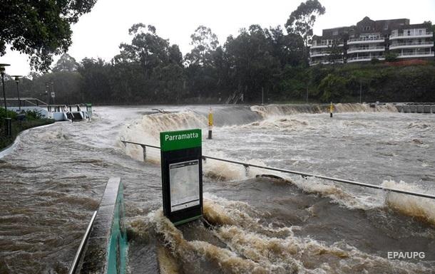 В Австралии сильнейшее наводнение за 50 лет