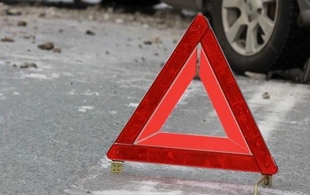 В Днепре трое детей пострадали в ДТП