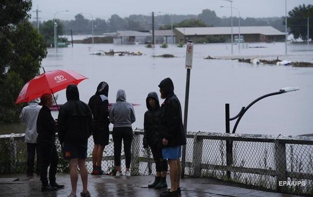 Наводнение в Австралии: эвакуированы почти 20 тысяч человек