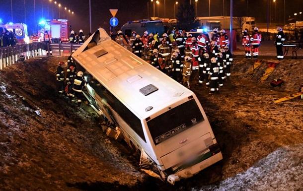 В Польше попал в ДТП автобус с украинцами, есть жертвы